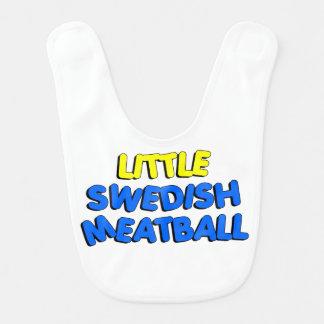 Peu de bavoir de boulette de viande suédoise