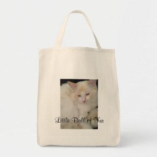 Peu de boule de sac fourre-tout à chat de fourrure