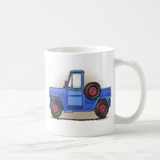 Peu de camion pick-up à quatre roues mug