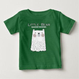 Peu de T-shirt d'animaux de forêt d'ours
