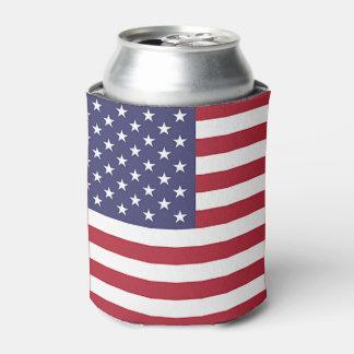 Peut le glacière avec le drapeau des Etats-Unis
