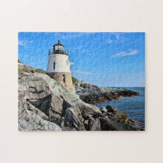 Phare de colline de château, Île de Rhode Puzzle