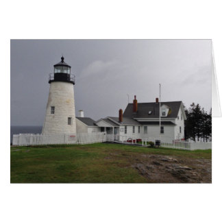 Phare de point de Pemaquid, Maine Carte