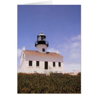 Phare de Point Loma, San Diego, la Californie Carte