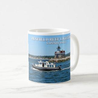 Phare de récif de Penfield, tasse du Connecticut