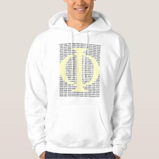 Phi/de Gouden Verhouding Sweatshirt Met Capuchon