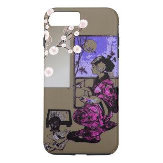 phonecase japonais exotique de geisha de femmes coque iPhone 7 plus