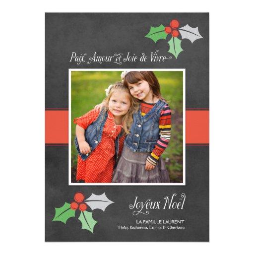 Photo Cartes de Noël | Paix Amour et Joie Invitations