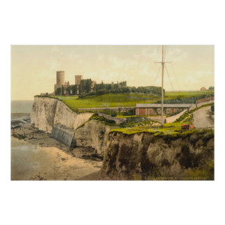 Photo-Copie vintage de Kingsgate Castle (1900)