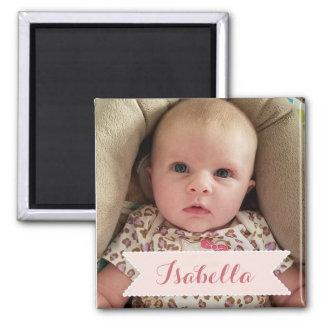 Photo de bébé et aimant faits sur commande d'image
