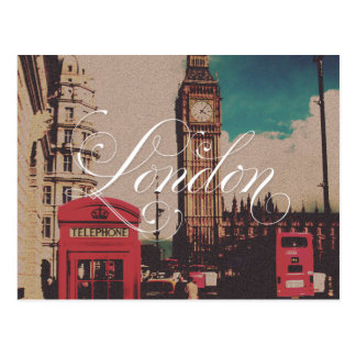 Photo de cru de point de repère de Londres Cartes Postales