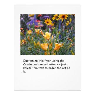 Photo de jardinage colorée d'amusement de jardin d prospectus 21,6 cm x 24,94 cm
