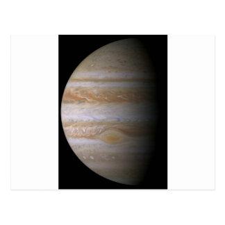 Photo de la planète Jupiter Carte Postale