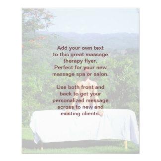 Photo de massage suédois prospectus 11,4 cm x 14,2 cm