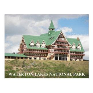 Photo de parc national de lacs Waterton Carte Postale