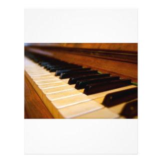 Photo de piano prospectus customisé