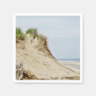 Photo de plage serviettes jetables