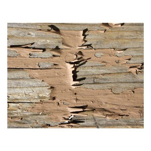 Photo de texture de peinture d'épluchage de Brown Tract