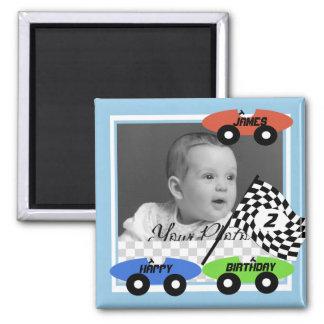 Photo de voitures de course magnets
