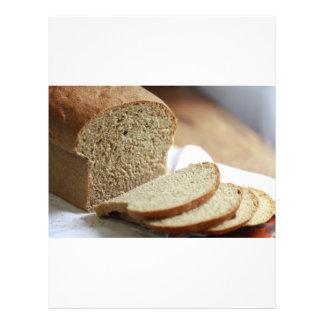 Photo découpée en tranches de pain prospectus