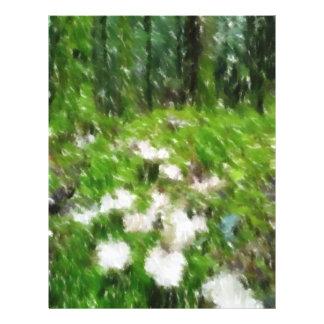 Photo éditée par champignon de forêt prospectus en couleur