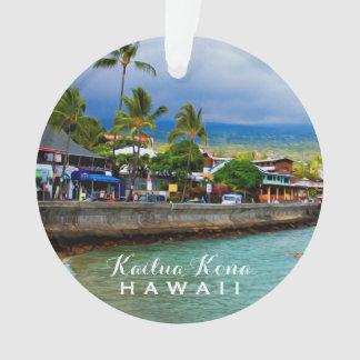 Photo et texte d'Hawaï 2 de pilier de Kailua Kona