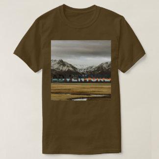 Photo extérieure d'aventure d'océan de montagne t-shirt