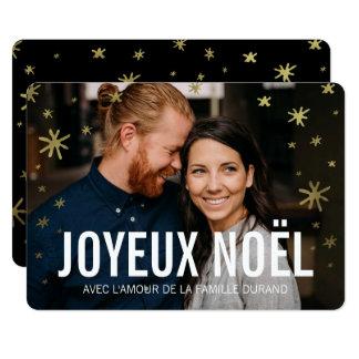 Photo | Joyeux Noel de noël de cartes Carton D'invitation 12,7 Cm X 17,78 Cm