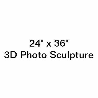 """Photo Sculpture 24"""" personnalisé x 36"""" sculpture en photo"""