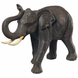 Photo Sculpture Éléphant asiatique du sud-est