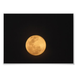 Photo Superbe Lune