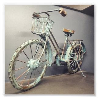 Photo vintage de bicyclette