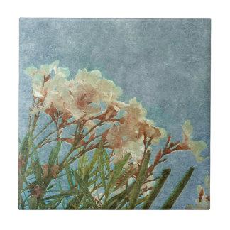 Photo vintage grunge florale carreau