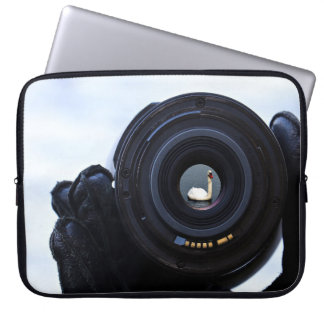 Photographe et cygne protection pour ordinateur portable