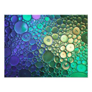 Photographie abstraite de bulle