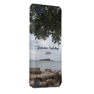 Photographie de la mer Méditerranée de vacances Coque iPod Touch 5G