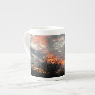 Photographie de paysage de nature de coucher du mug