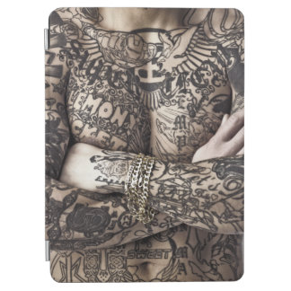 Photographie de tatouage de corps masculin protection iPad air