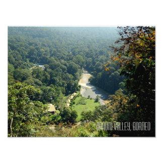 Photographie de vallée de Danum de jungle de forêt