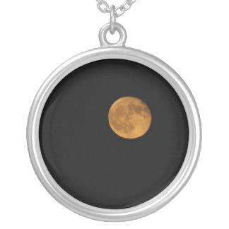 PHOTOGRAPHIE ronde de collier de LUNE de RÉCOLTE