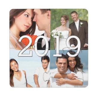 Photos de mariage et obtention du diplôme faite dessous de verre puzzle