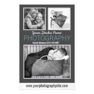 Photos témoin d'aide d'affaires de photographie gr prospectus personnalisés