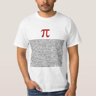 Pi = 3,141592653589 etc. etc… quoi que ! t-shirt