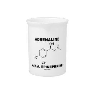 Pichet Adrénaline d'adrénaline A.K.A. (chimie)