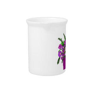 Pichet Bouquet de fleur