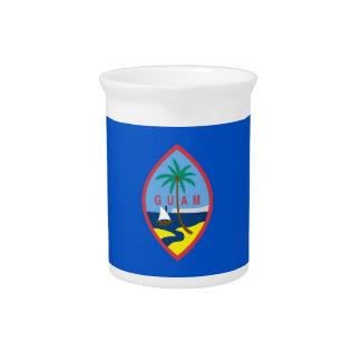 Pichet Broc de drapeau de la Guam