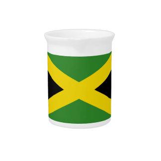 Pichet Broc jamaïcain de drapeau