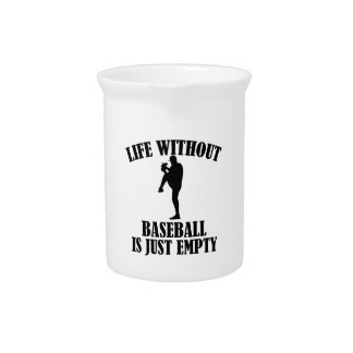 Pichet conception de base-ball