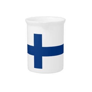Pichet Drapeau de la Finlande