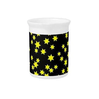 Pichet Étoiles de jaune